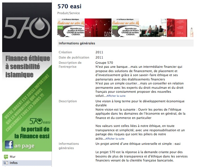 570 easi - Page Facebook