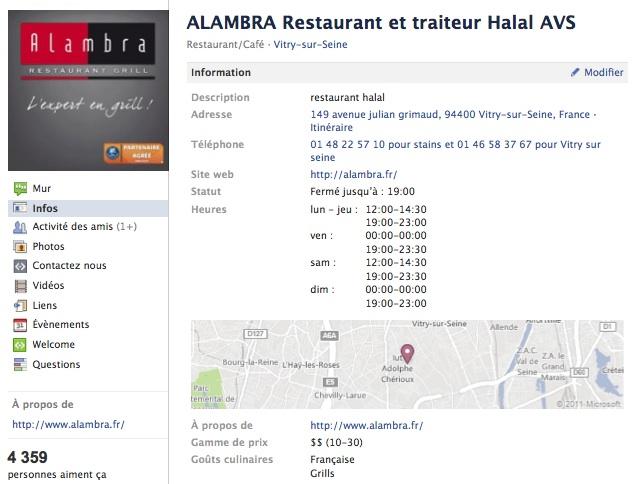 Alambra - Page Facebook
