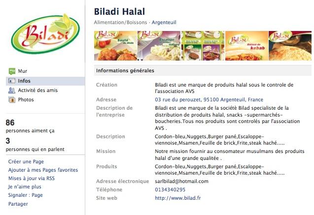 Biladi - Page Facebook