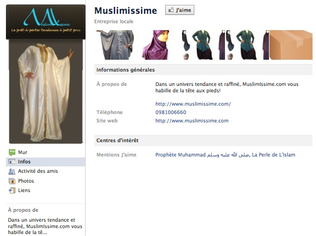 Muslimissime - Page Facebook