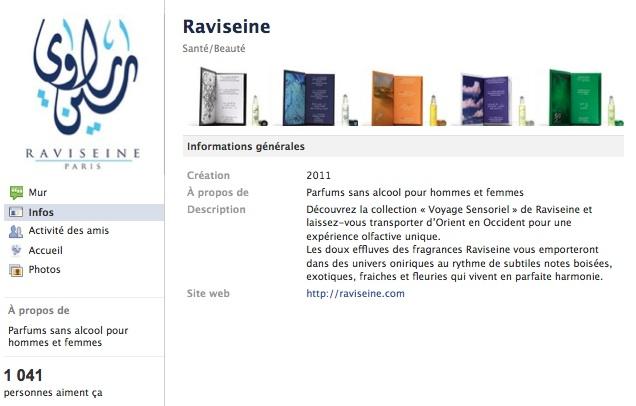 Raviseine - Page Facebook