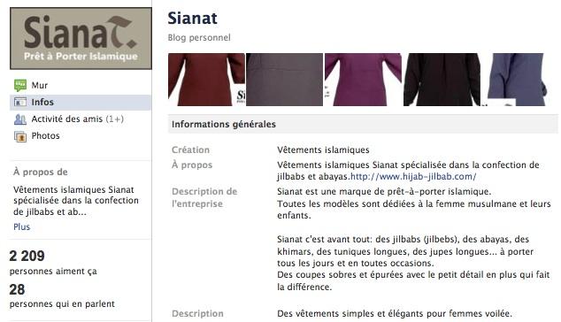 Sianat - Page Facebook
