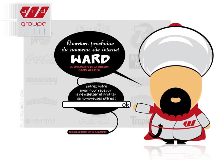Ward : une mascotte toute en rondeur