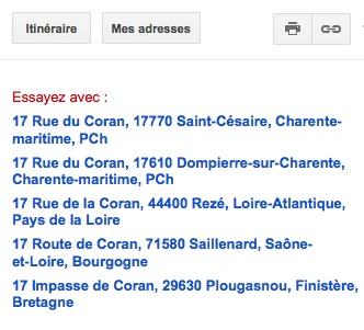 Rue du Coran