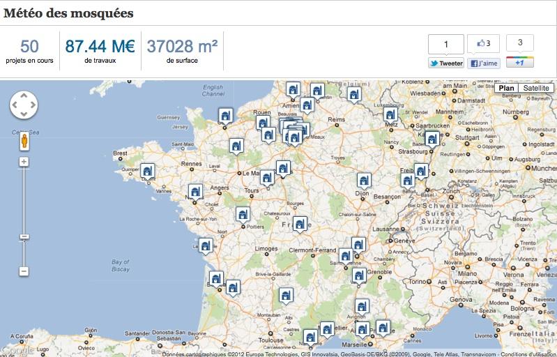 Trouvetamosquee.fr lance la météo des mosquées