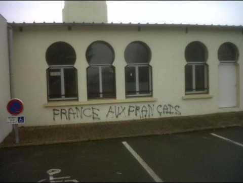 Une mosquée profanée au Mans