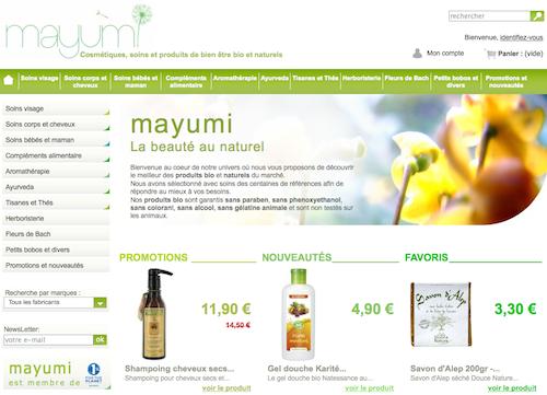 La e-boutique du samedi : Mayumi