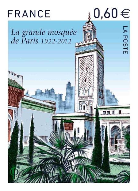 La mosquée de Paris a son timbre