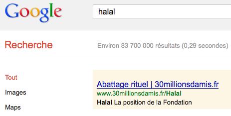 30 millions d'amis se paie le casher et le halal