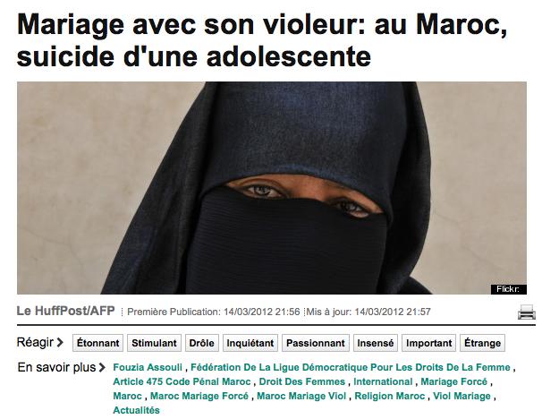 Drame au Maroc : le Huffington Post racole