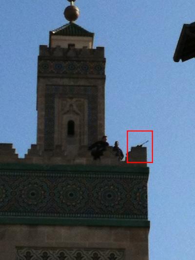 Mosquée de Paris : visite de Nicolas Sarkozy