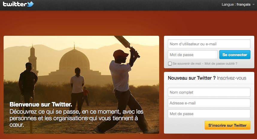 Mosquée Twitter