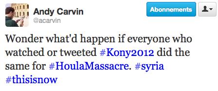 Massacres en Syrie