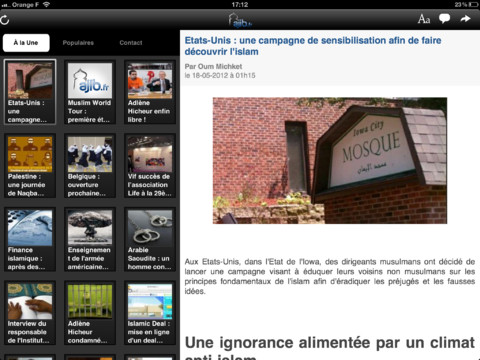 Ajib.fr sort son application disponible pour iPhone, iPad et Androïd