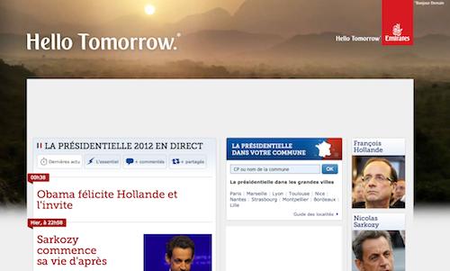 Hollande élu, les Arabes sur le Figaro
