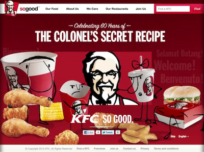 KFC no good : Greenpeace flingue le roi du poulet