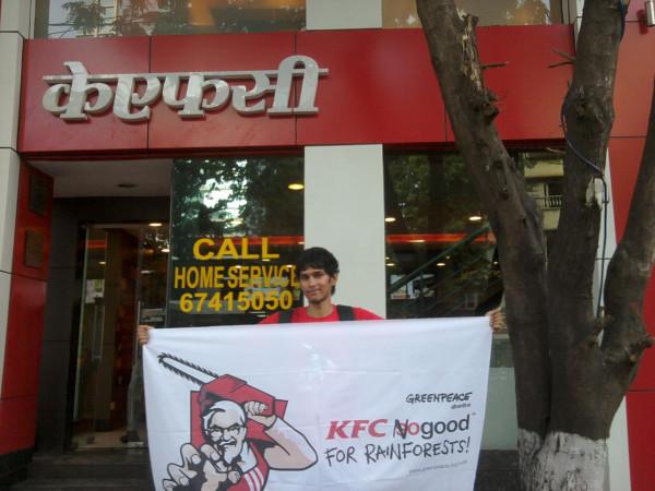 KFC no Good : en Inde, on se mobilise