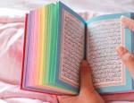 Coran multicolore