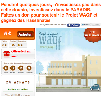 Oriental Deal projet Waqf