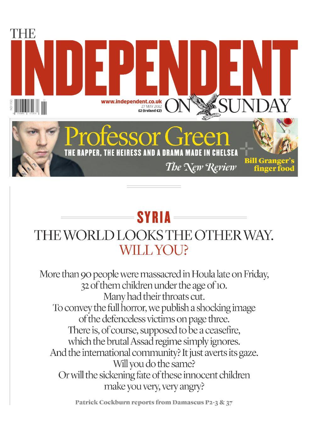 Massacres en Syrie - The Independent