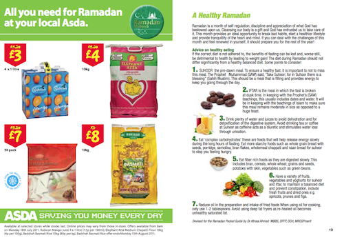 Ramadan 2012 : la grande distribution britannique