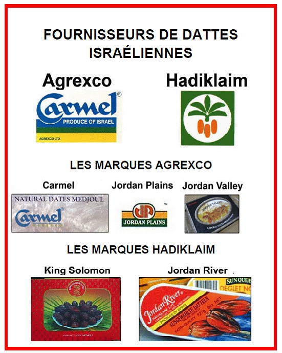 Ramadan : attention aux dattes israéliennes