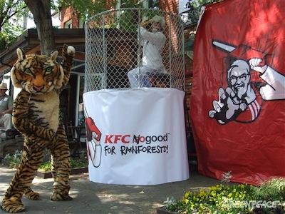 KFC no Good : Greenpeace France silencieuse, ailleurs on bouge