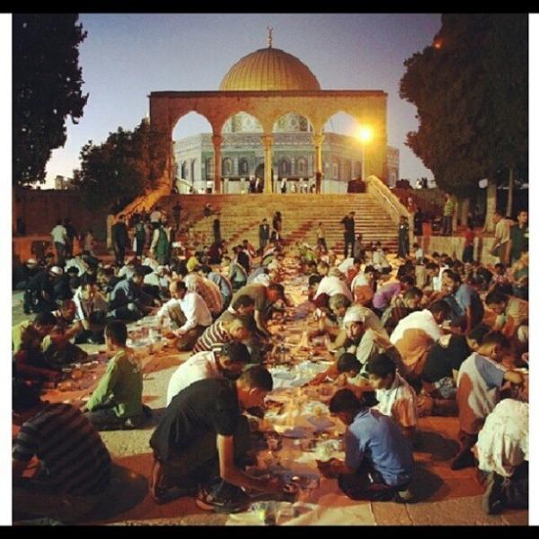 Al-Quds, iftar