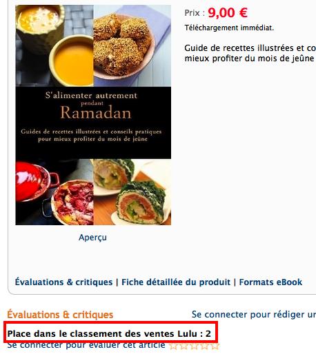 Ramadan 2012 :