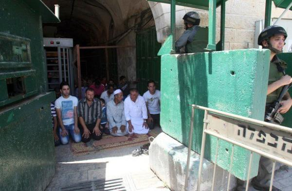 Hebron, prière ramadan