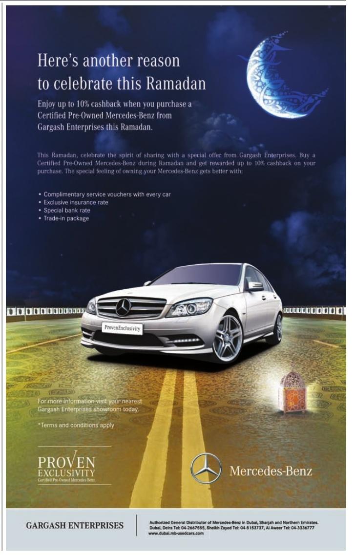 Ramadan Mercedes
