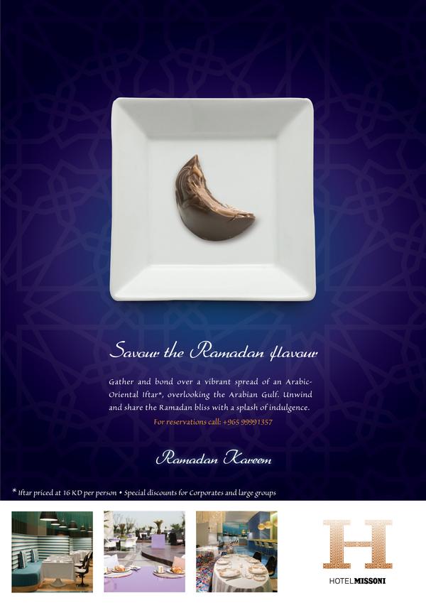 Missoni Hotel ramadan