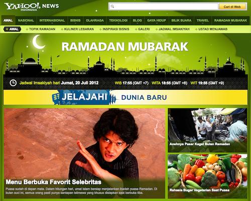 Yahoo Indonésie ramadan