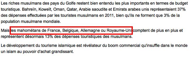 L'AFP et les mahométans de France