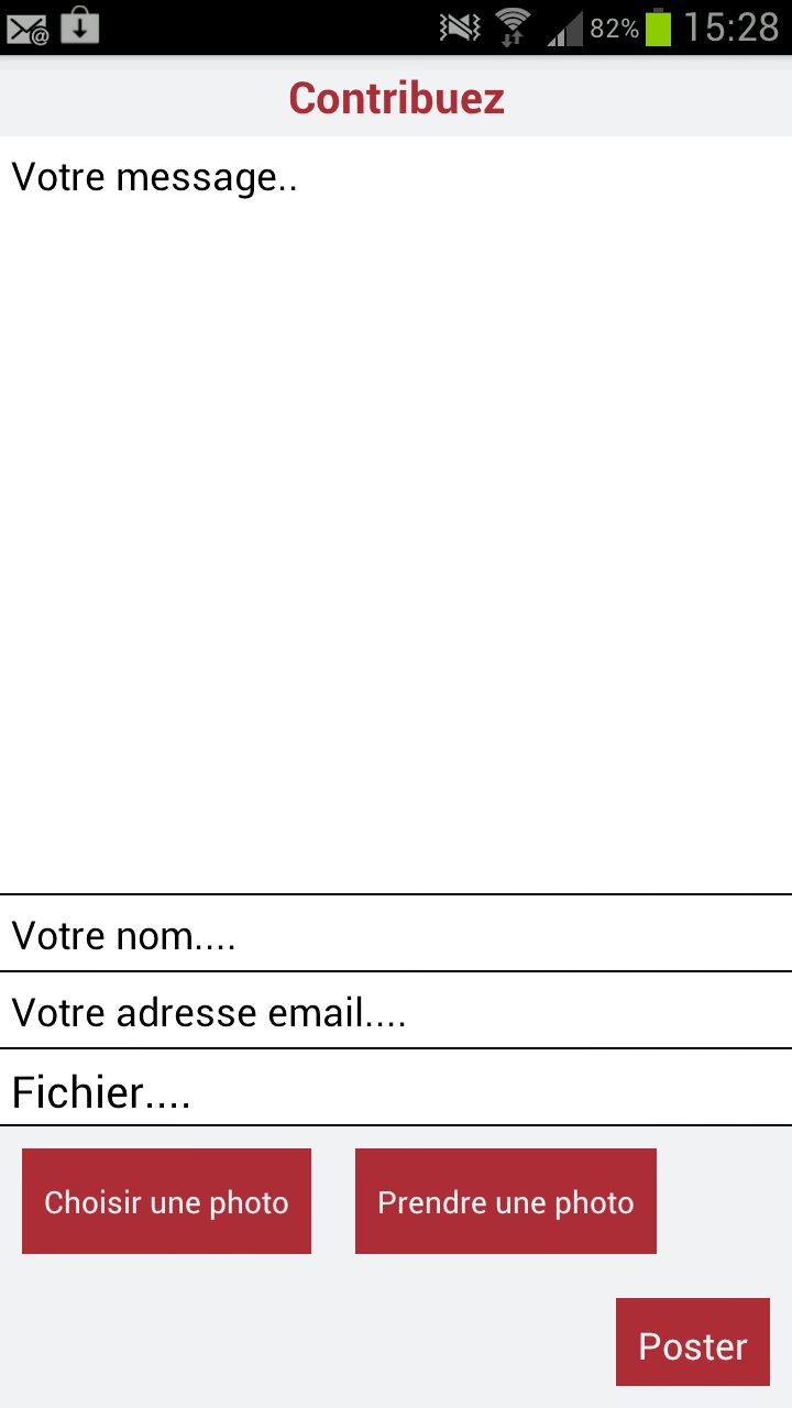 Application Androïd : le seuil des 1 000 téléchargements franchi