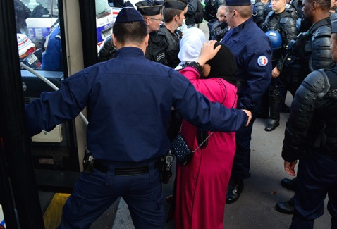 Arrestations du Trocadéro