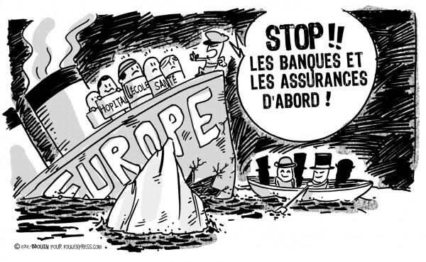 banque assurance bdouin Les députés socialistes volent au secours des banques. L'amendement 536 a été rejeté.