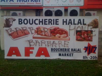 Islamophobie : des commerces pris pour cible à Châlon-sur-Saône