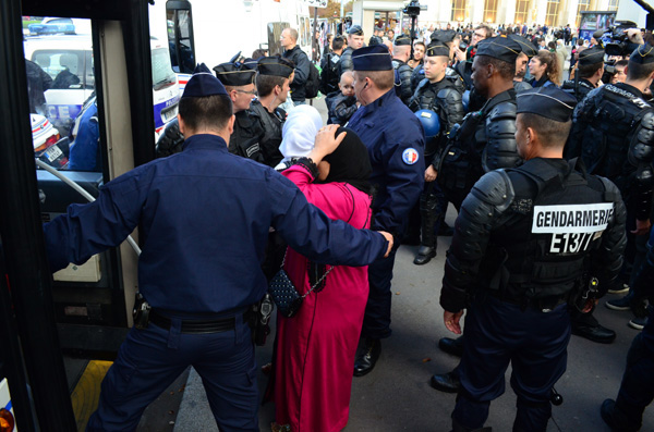 Arrestations du Trocadéro