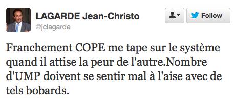 Jean-François Copé - Le Pen au chocolat