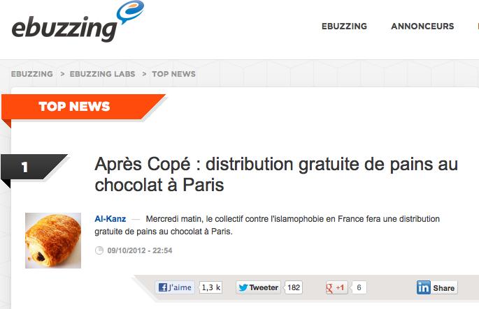 pain chocolat copé ebuzzing