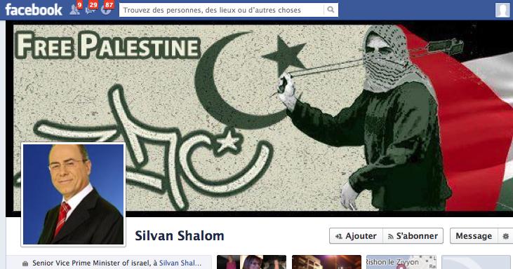 Facebook vice premier ministre israel