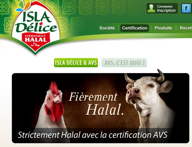 Halal : Isla Délice et AVS, c'est fini