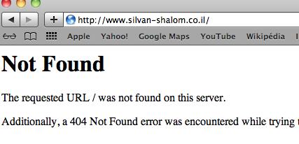 site silvan shalom