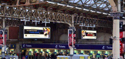 The Quran Project : les panneaux sont dans les gares