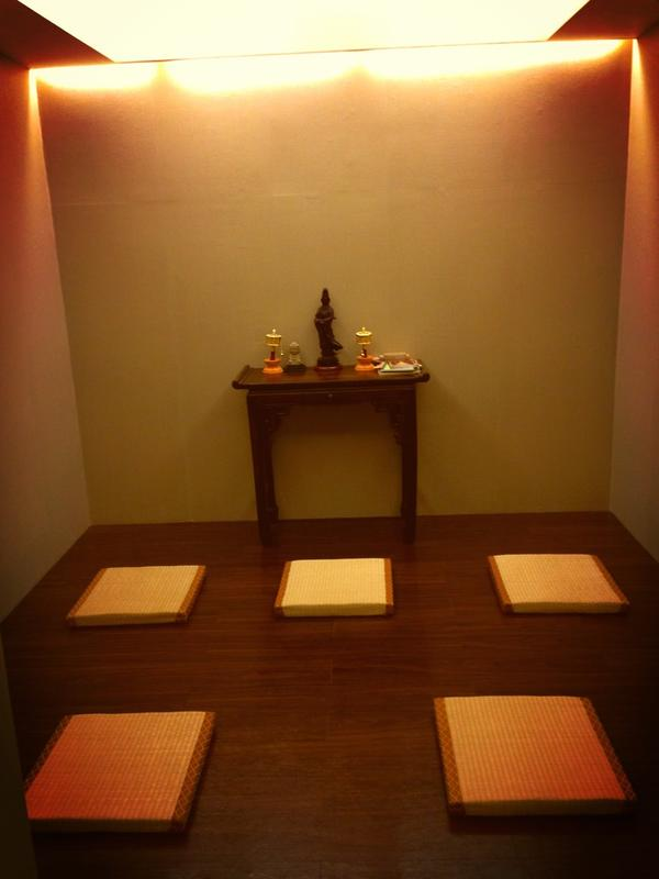 salle priere taiwan bouddhisme