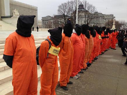 gitmo protest Guantanamo