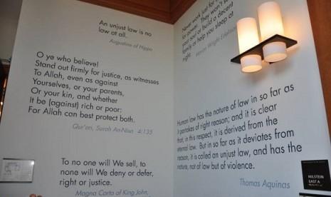 harvard word justice
