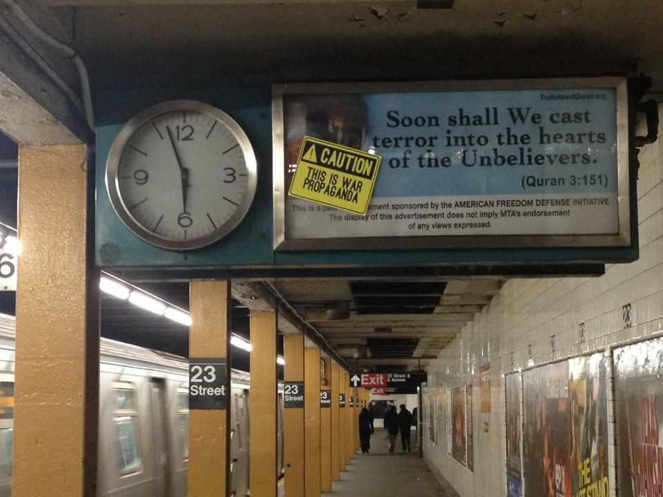 Islamophobie : haine à New York, sourire à Vienne