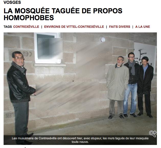 Vosges : profanation de la mosquée Attawba